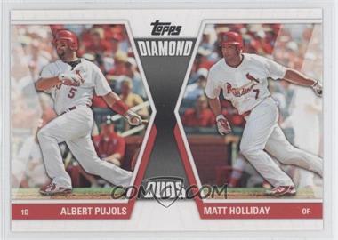 2011 Topps - Diamond Duos Series 2 #DD-28 - Albert Pujols, Matt Holliday