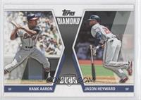 Hank Aaron, Jason Heyward