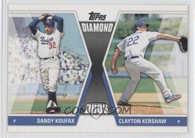 2011 Topps - Diamond Duos Series 2 #DD-30 - Sandy Koufax, Clayton Kershaw