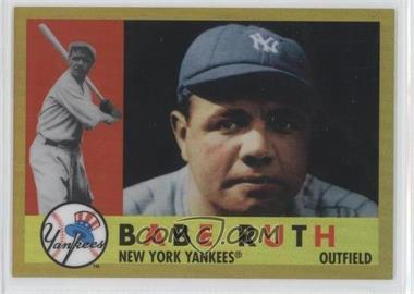 2011 Topps - Factory Set Babe Ruth #BR60 - Babe Ruth