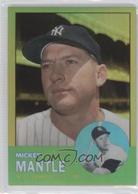 2011 Topps - Factory Set Mickey Mantle Chrome Reprints #200 - Mickey Mantle