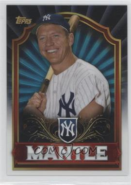 2011 Topps - Mega Boxes Mega Box Chrome #MBC1 - Mickey Mantle