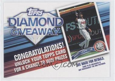 2011 Topps - Redemptions Diamond Giveaway Code Cards #TDG-14 - Jason Heyward