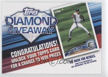 2011 Topps - Redemptions Diamond Giveaway Code Cards #TDG-5 - Derek Jeter
