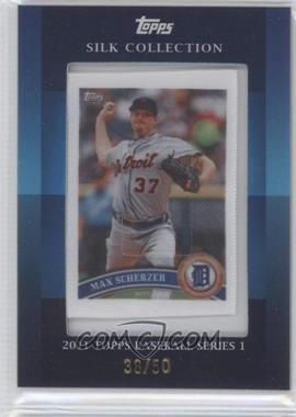 2011 Topps - Silk Collection #MASC - Max Scherzer /50