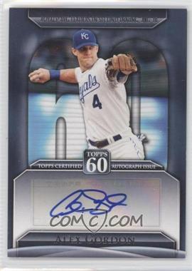 2011 Topps - Topps 60 Autographs - [Autographed] #T60A-AG - Alex Gordon
