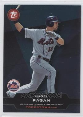 2011 Topps - ToppsTown Series 2 #TT2-41 - Angel Pagan