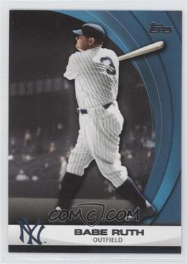 2011 Topps - Wal-Mart Hanger Pack Inserts - Blue #WHP1 - Babe Ruth