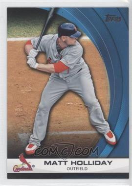 2011 Topps - Wal-Mart Hanger Pack Inserts - Blue #WHP28 - Matt Holliday