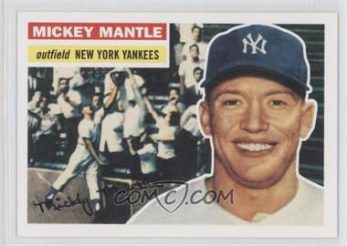 2011 Topps 60 Years of Topps Original Back #135 - Mickey Mantle