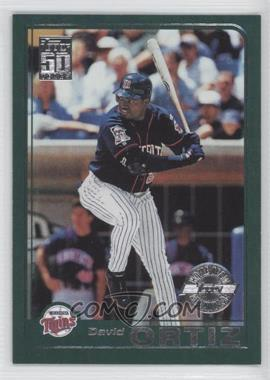 2011 Topps 60 Years of Topps Original Back #136 - David Ortiz