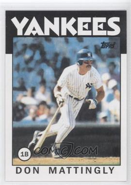 2011 Topps 60 Years of Topps Original Back #180 - Don Mattingly