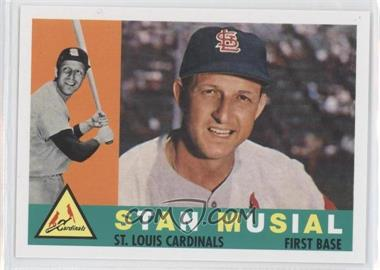2011 Topps 60 Years of Topps Original Back #250 - Stan Musial