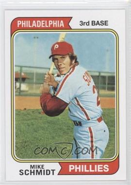 2011 Topps 60 Years of Topps Original Back #283 - Mike Schmidt