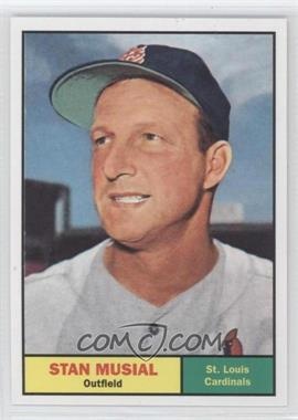 2011 Topps 60 Years of Topps Original Back #290 - Stan Musial