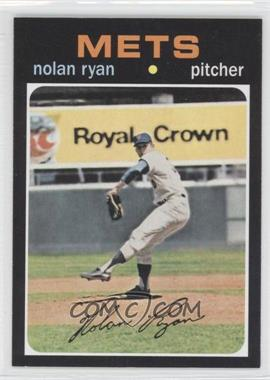 2011 Topps 60 Years of Topps Original Back #513 - Nolan Ryan