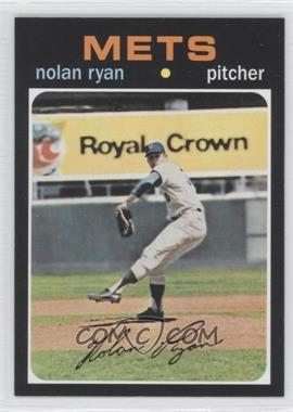 2011 Topps 60 Years of Topps Original Back #513 - Nolan Ryan