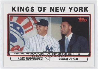 2011 Topps 60 Years of Topps Original Back #693 - Alex Rodriguez, Derek Jeter