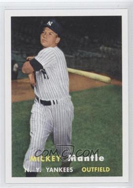 2011 Topps 60 Years of Topps Original Back #95 - Mickey Mantle