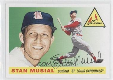 2011 Topps 60 Years of Topps: The Lost Cards Original Back #175 - Stan Musial