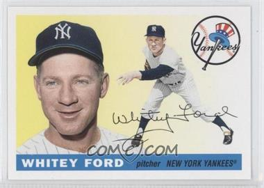 2011 Topps 60 Years of Topps: The Lost Cards Original Back #186 - Whitey Ford