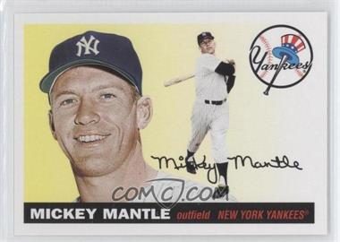 2011 Topps 60 Years of Topps: The Lost Cards Original Back #211 - Mickey Mantle