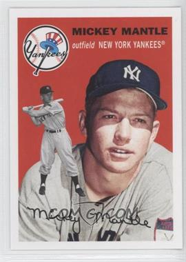 2011 Topps 60 Years of Topps: The Lost Cards Original Back #251 - Mickey Mantle