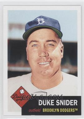 2011 Topps 60 Years of Topps: The Lost Cards Original Back #253 - Duke Snider