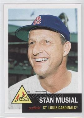 2011 Topps 60 Years of Topps: The Lost Cards Original Back #60YOTLC-1 - Stan Musial