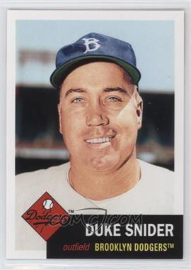 2011 Topps 60 Years of Topps: The Lost Cards Original Back #60YOTLC-2 - Duke Snider