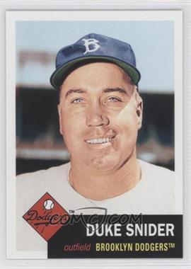 2011 Topps 60 Years of Topps: The Lost Cards #60YOTLC-2 - Duke Snider