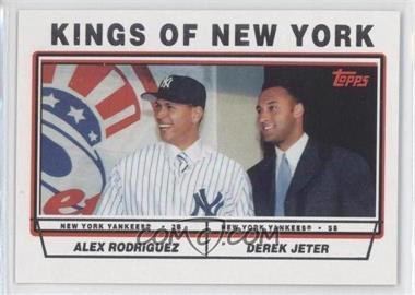 2011 Topps 60 Years of Topps #60YOT-112 - Alex Rodriguez, Derek Jeter