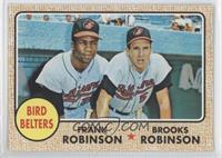 Frank Robinson, Brooks Robinson