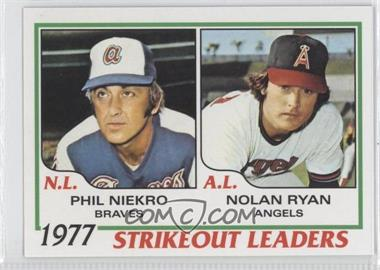 2011 Topps 60 Years of Topps #60YOT-27 - Phil Niekro, Nolan Ryan