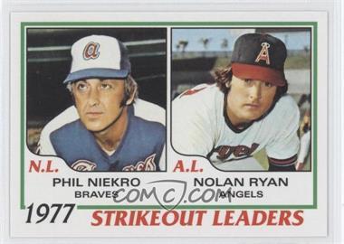 2011 Topps 60 Years of Topps #60YOT-27 - Phil Niekro, Nolan Ryan