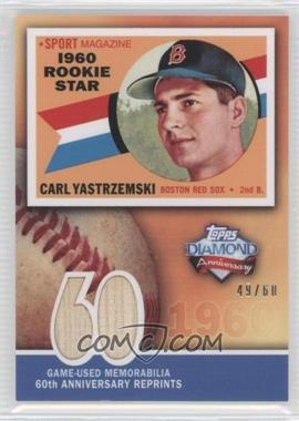 2011 Topps 60th Anniversary Reprints Relics #60ARR-CY - Carl Yastrzemski /60
