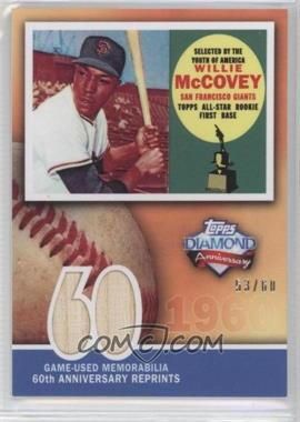 2011 Topps 60th Anniversary Reprints Relics #60ARR-WM - Willie McCovey /60