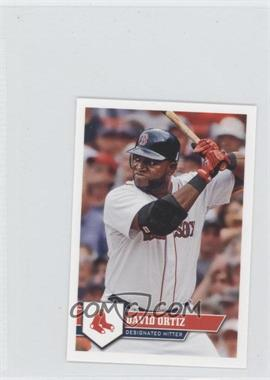 2011 Topps Album Stickers #17 - David Ortiz