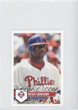 2011 Topps Album Stickers #175 - Ryan Howard