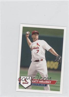2011 Topps Album Stickers #232 - Matt Holliday