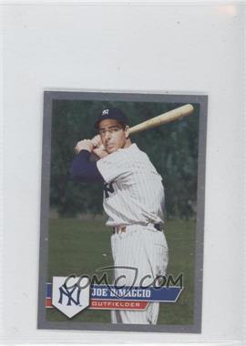 2011 Topps Album Stickers #289 - Joe DiMaggio