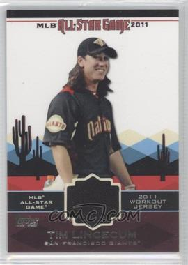 2011 Topps All-Star Stitches #AS-10 - Tim Lincecum