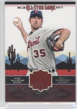 2011 Topps All-Star Stitches #AS-15 - Justin Verlander