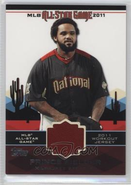 2011 Topps All-Star Stitches #AS-32 - Prince Fielder