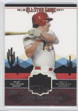 2011 Topps All-Star Stitches #AS-34 - Lance Berkman