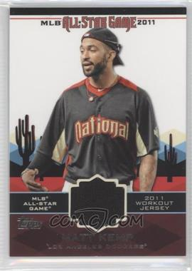 2011 Topps All-Star Stitches #AS-35 - Matt Kemp