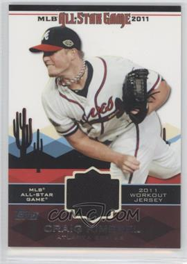 2011 Topps All-Star Stitches #AS-43 - Craig Kimbrel