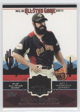 2011 Topps All-Star Stitches #AS-48 - Brian Wilson