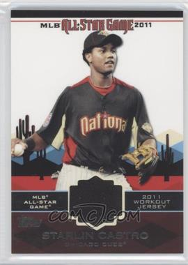 2011 Topps All-Star Stitches #AS-51 - Starlin Castro