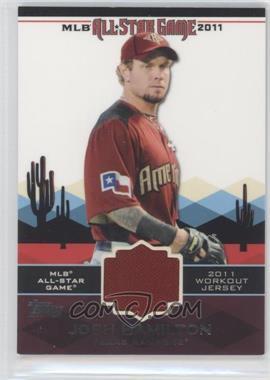 2011 Topps All-Star Stitches #AS-6 - Josh Hamilton